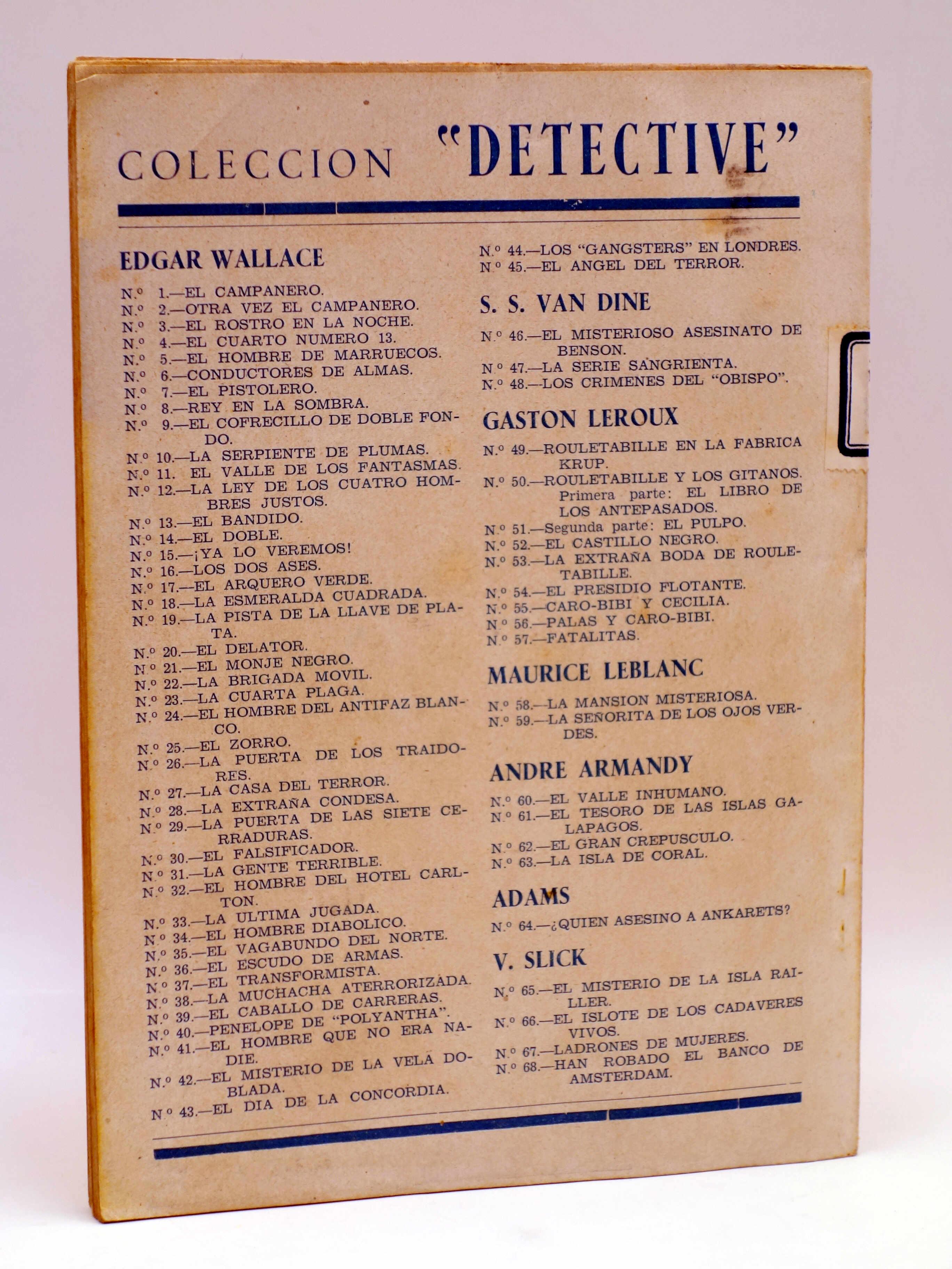 COLECCIÓN DETECTIVE 26. LA PUERTA DE LOS TRAIDORES