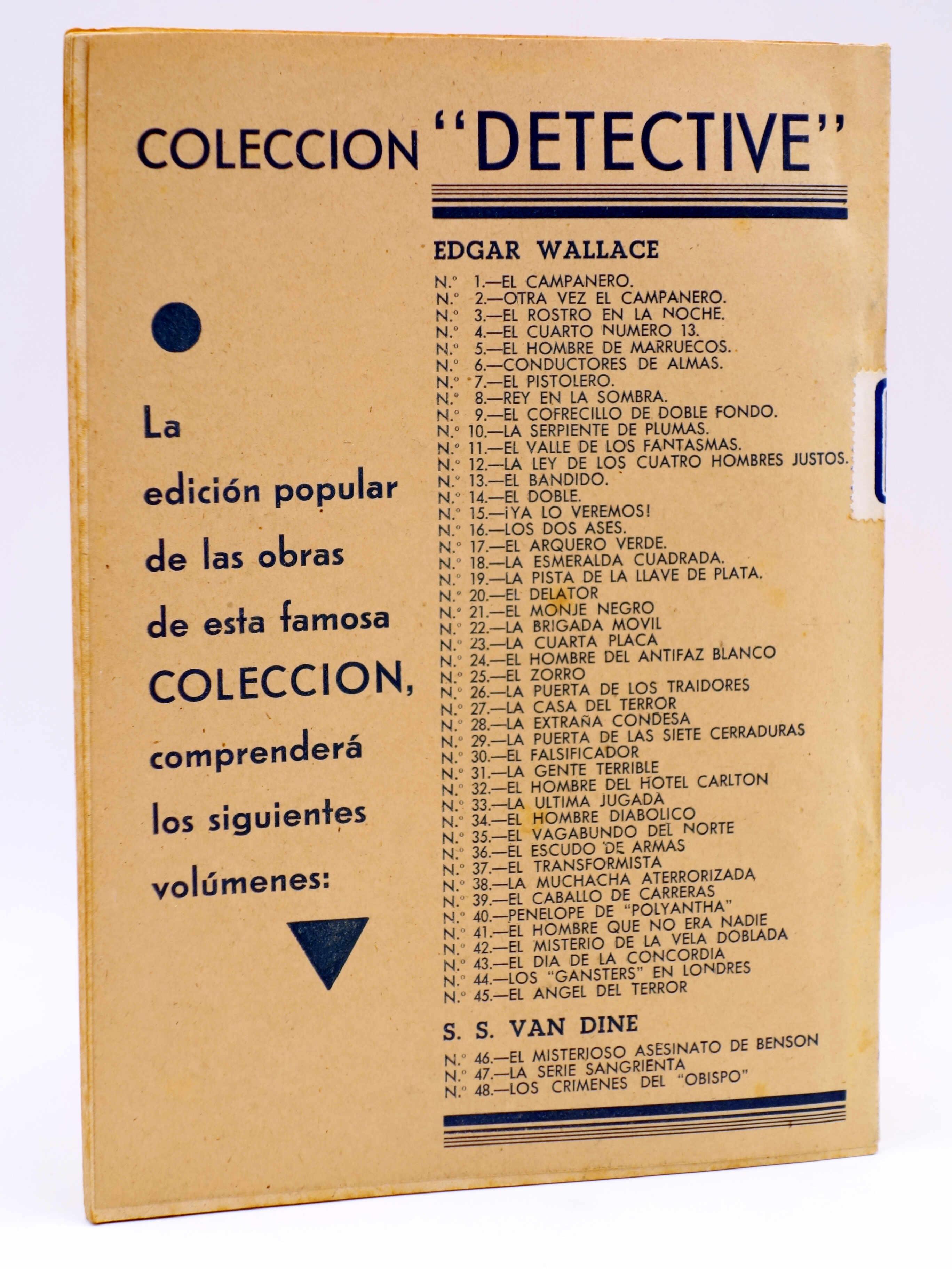 COLECCIÓN DETECTIVE 30. EL FALSIFICADOR