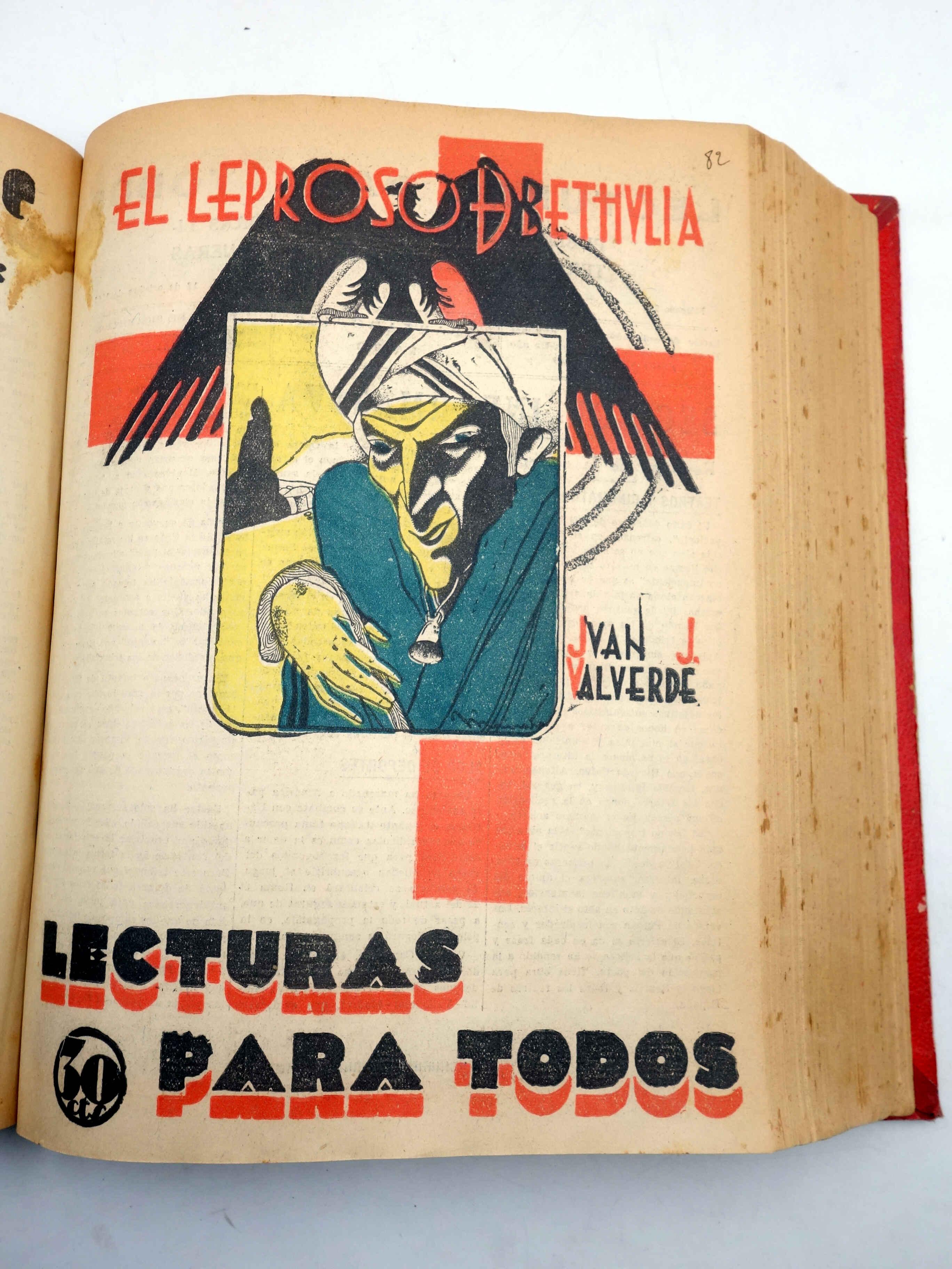 LECTURAS PARA TODOS. SUPLEMENTO DE LA REVISTA JEROMÍN. 21 NºS EN UN TOMO. VER LISTA