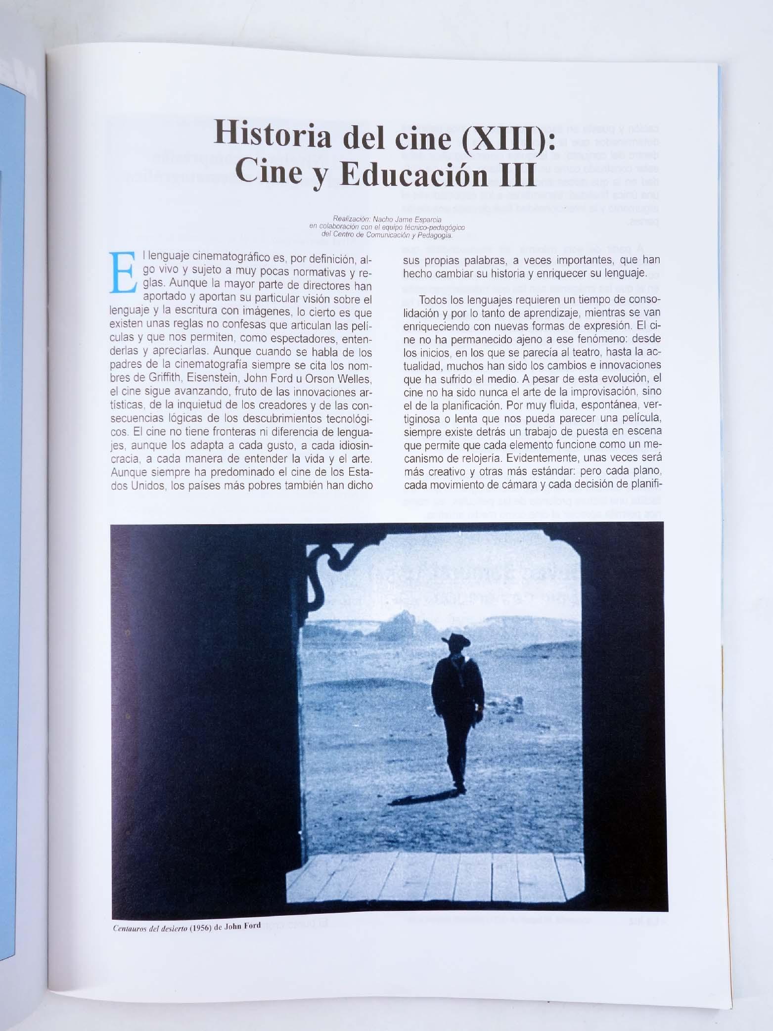REVISTA MAKING OF, CUADERNOS DE CINE Y EDUCACIÓN 39