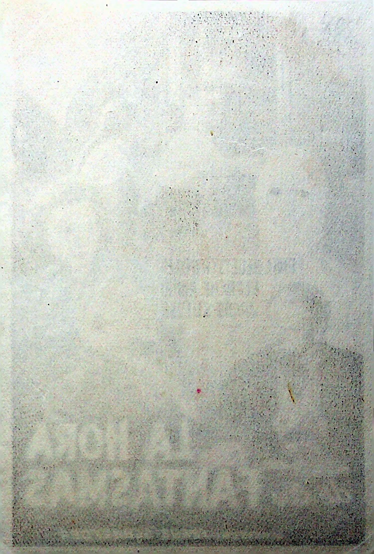 PROGRAMA DE MANO. LA HORA DE LOS FANTASMAS. Emil Hegetschweiler Blanche Aubri