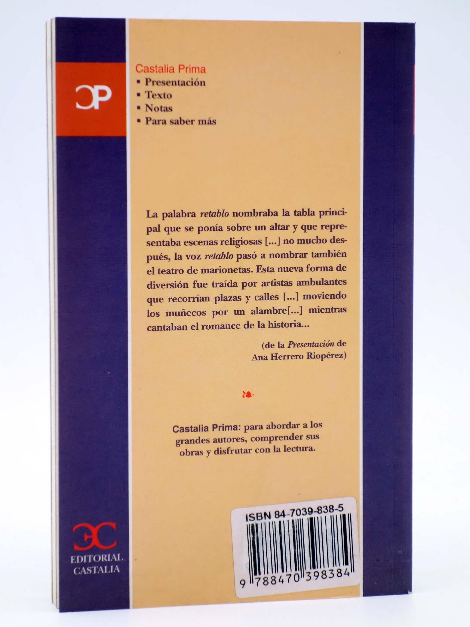 CASTALIA PRIMA 6. DOS RETABLOS Y UN RETABLILLO. OFRT